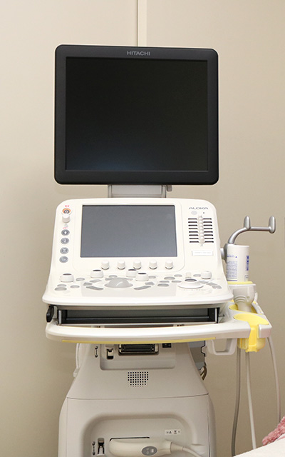 エコー画像検査機